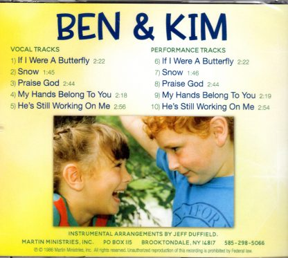 Ben & Kim - The John Martins - Back
